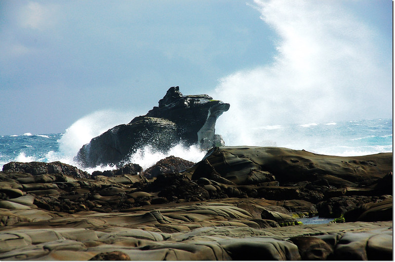 海蝕平台青蛙石 3