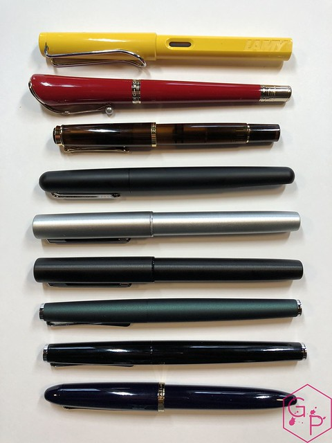 Review Lamy Aion Fountain Pen - Black & Olive Silver @AppelboomLaren 10