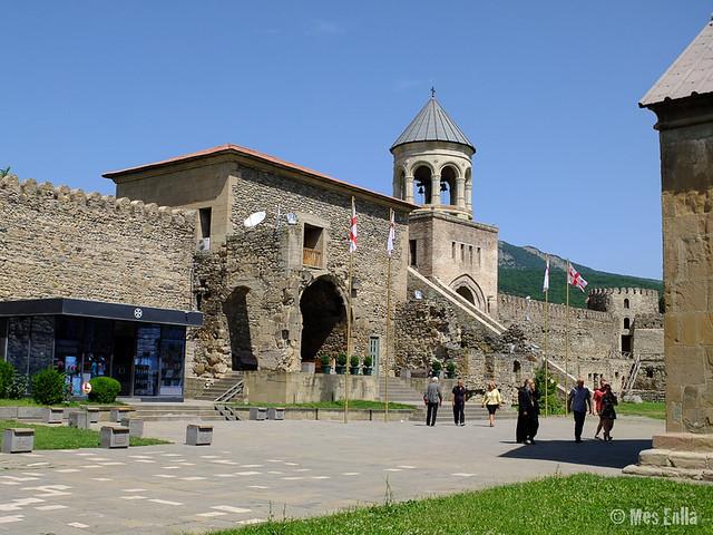 Muralla de la catedral de Mtskheta