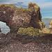 Dunbar Castle HDR