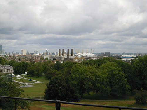The view from the Royal Observatory. From Studying Abroad in London: A Quick Ride to Greenwich!
