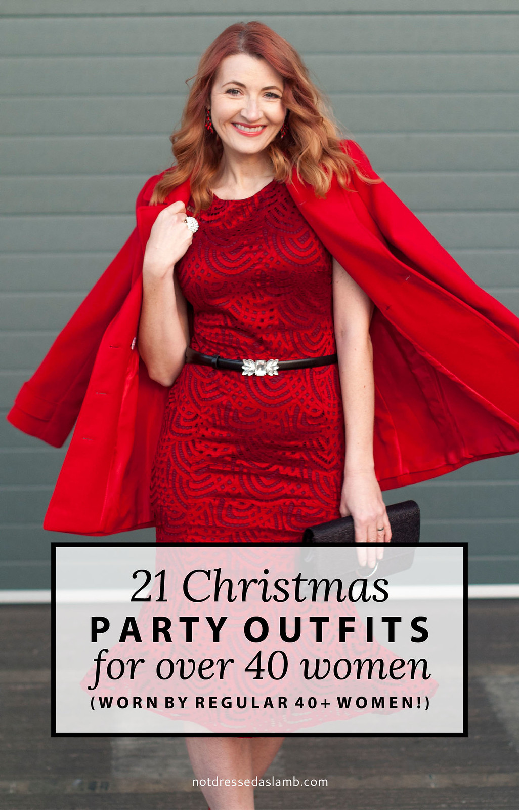 21 Christmas Party Outfits for Over 40 Women (worn by regular 40+ women)