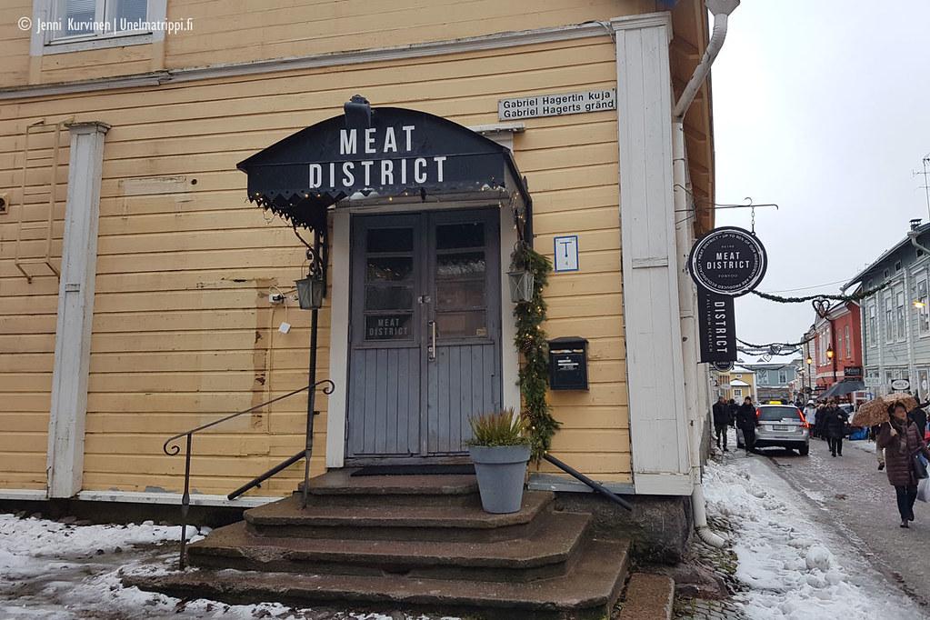 Meat Districtin sisäänkäynti