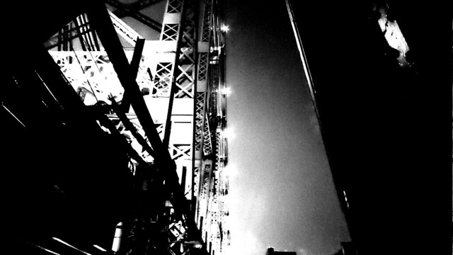 Queensboro Bridge B&W 4