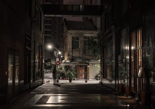 In the night, Taipei
