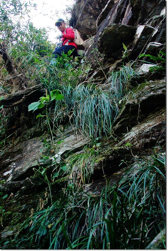 西大社山凸岩絕壁地形 6