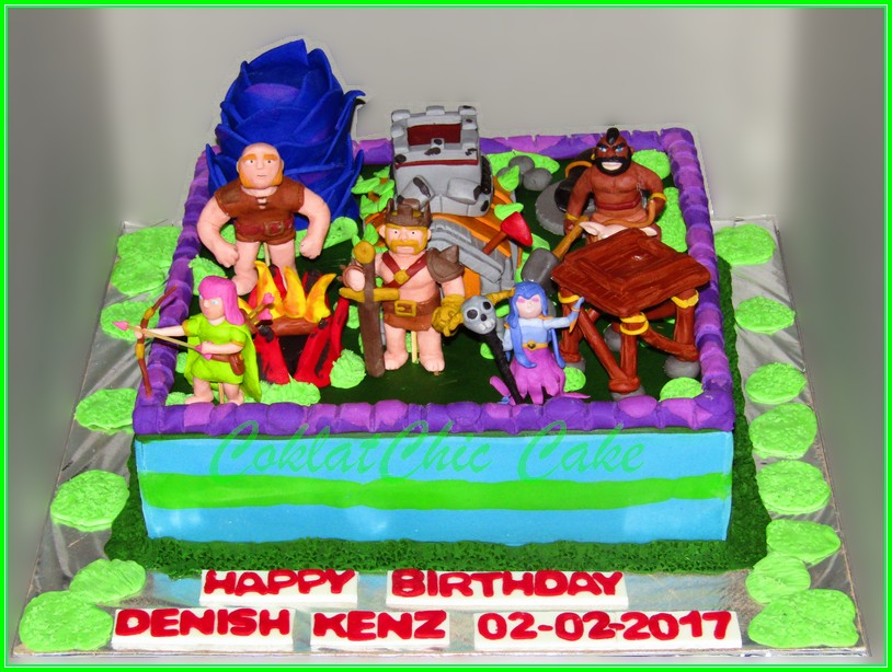 Cake Clash of Clans DENISH 30cm