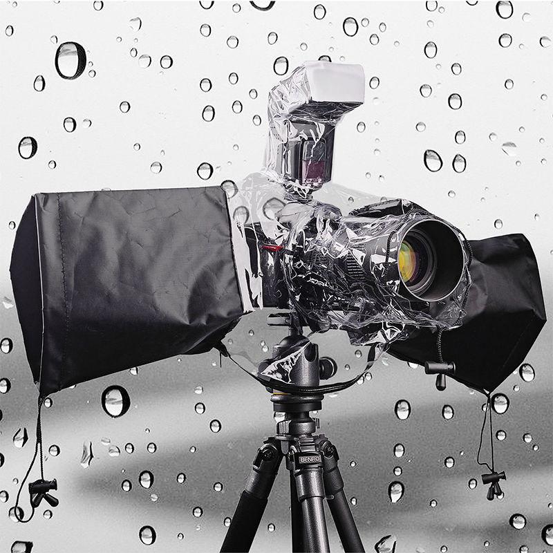 Áo mưa Fulat cho máy ảnh DSLR có chỗ gắn Flash