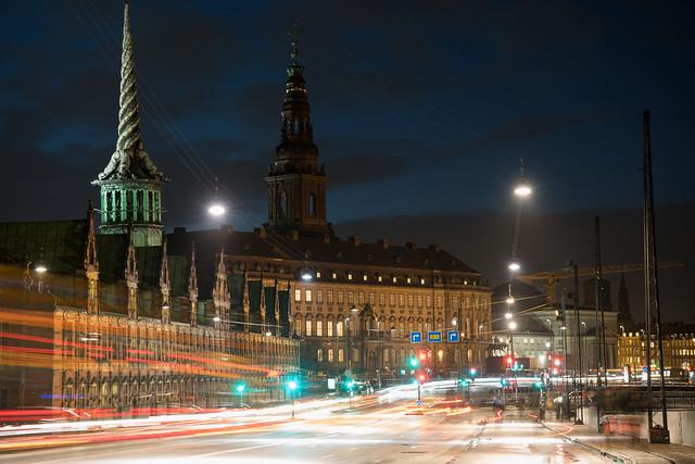 Børsen and Christiansborg
