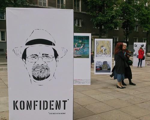 """""""Punkt wyjścia. Street art, którego nie było"""" exhibition, July 2017"""