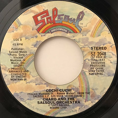 CHARO AND THE SALSOUL ORCHESTRA:DANCE A LITTLE BIT CLOSER(LABEL SIDE-B)