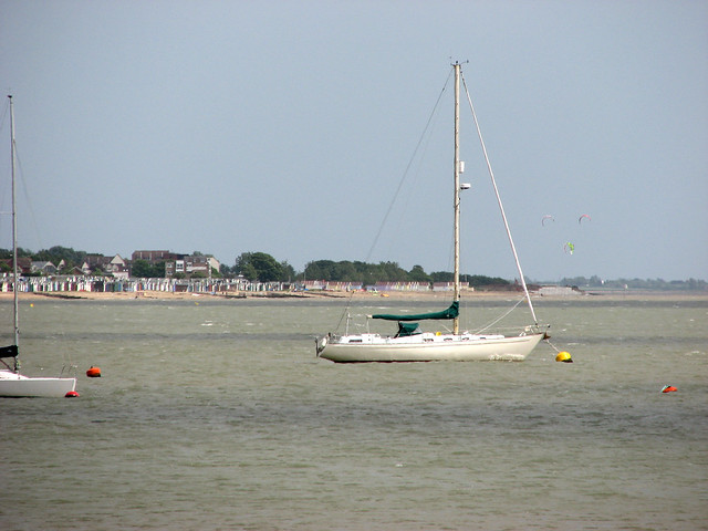 Mersea Island from Old Hall Marshes