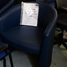 Navy tub chair ex demo E130