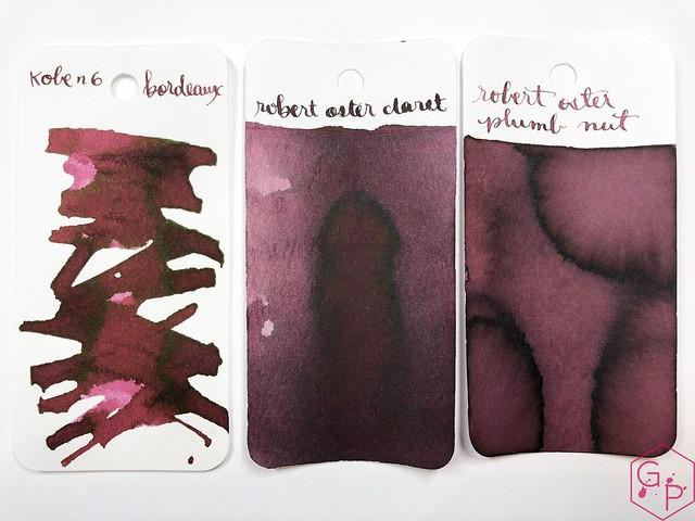 Ink Shot Review Kobe #6 Bordeaux @GoldspotPens 5