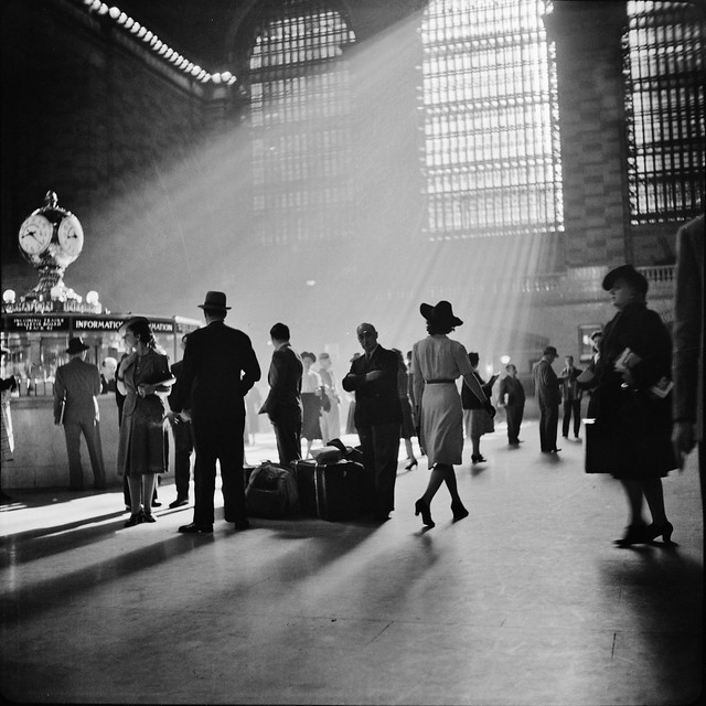 Grand Central Terminal, New York City. October 1941.