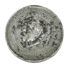 1871 Robert E. Lee Medal obverse