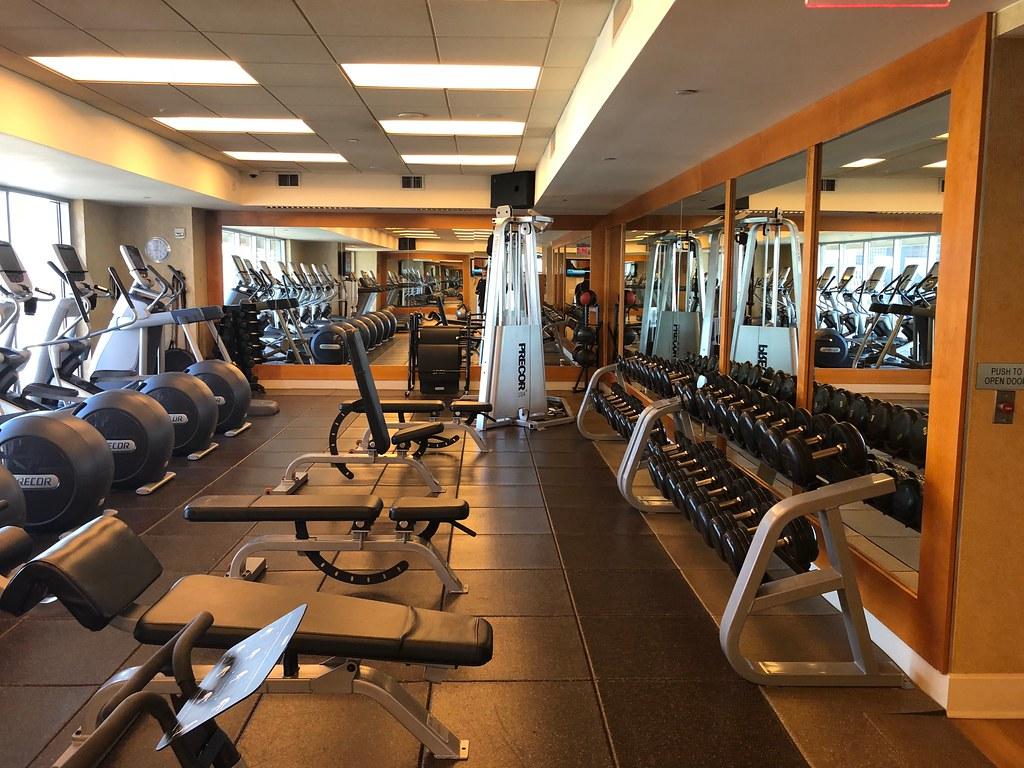 Hilton Americas-Houston Pool and Gym 1