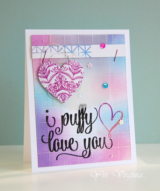 Card #3 I puffy love you