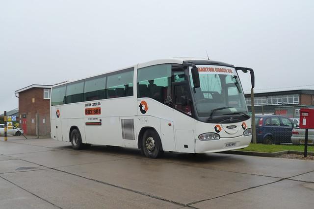 YJ53 KFC (ex 31 GBP, YJ 53 KFC) - Clydes Minibuses {Barton Coach Co}, Barton-le-Clay (BD)