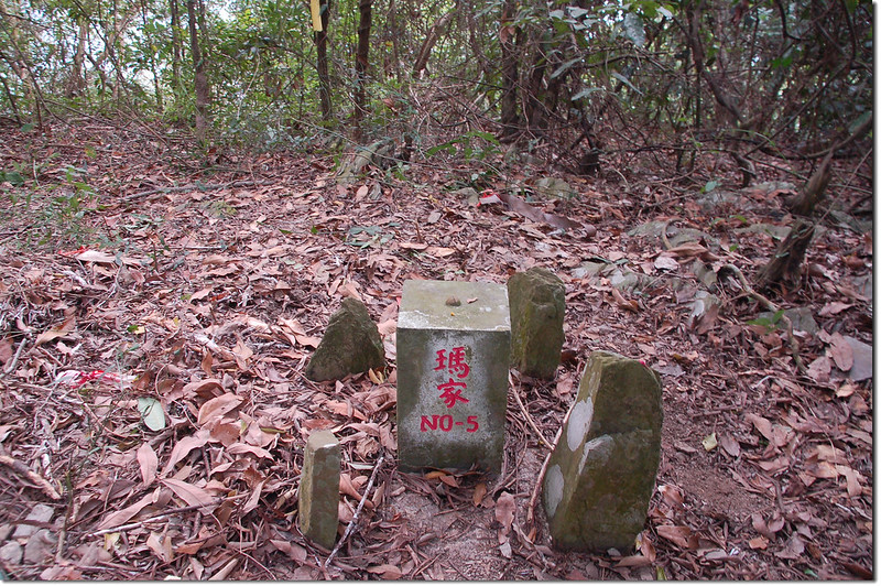 達來山北峰經濟部水資會三角點(# 5 Elev. 402 m)