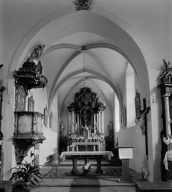 Horní Záhoří (PI), kl sv. Michala (září 1983)
