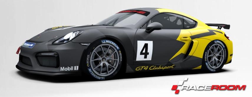 RaceRoom PORSCHE CAYMAN GT4 CLUBSPORT