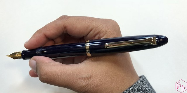 Review Sailor 1911 Fude de Mannen Fountain Pen @ThePenCompany 8