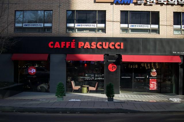 Caffé Pascucci, Seoul, S. Korea