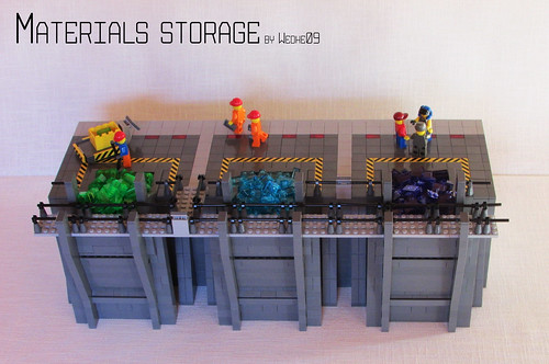 Material storage - Opening the gates