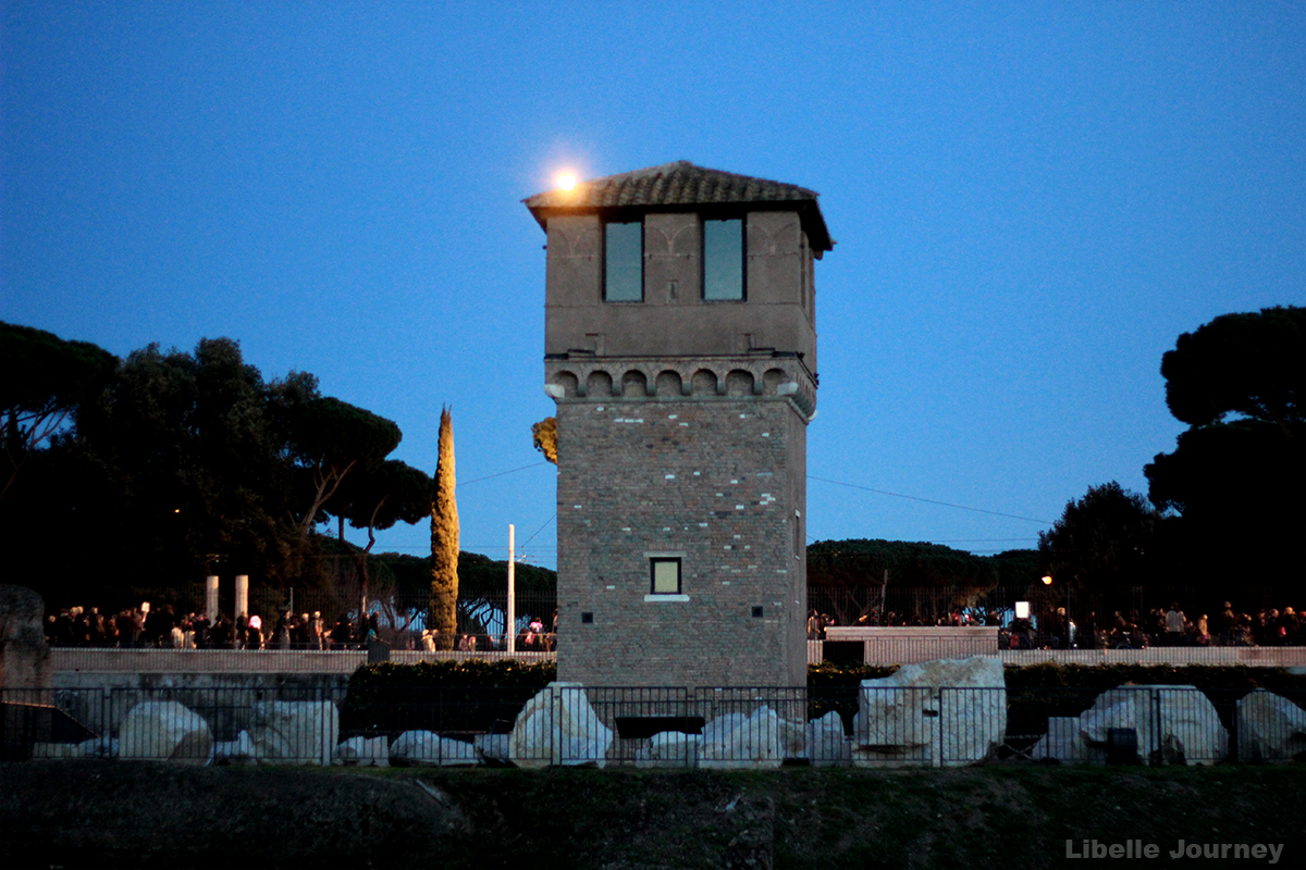 Tower in the Circus Maximus