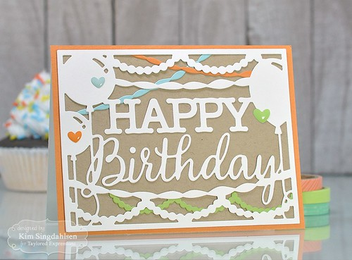 Taylored Expressions Happy Birthday Cutting Plate