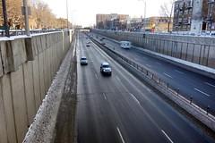 Decarie Expressway (Notre Dame de Grace, Montreal, Quebec, Canada)