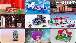 2017 A Year of LEGO Renders by Steven Reid