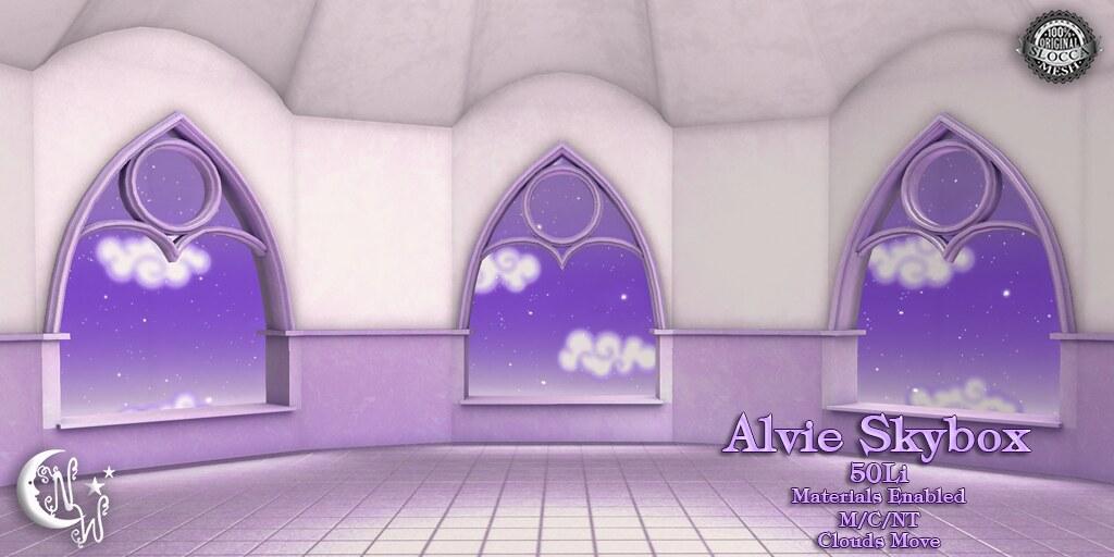 Alvie Skybox - lilac - TeleportHub.com Live!