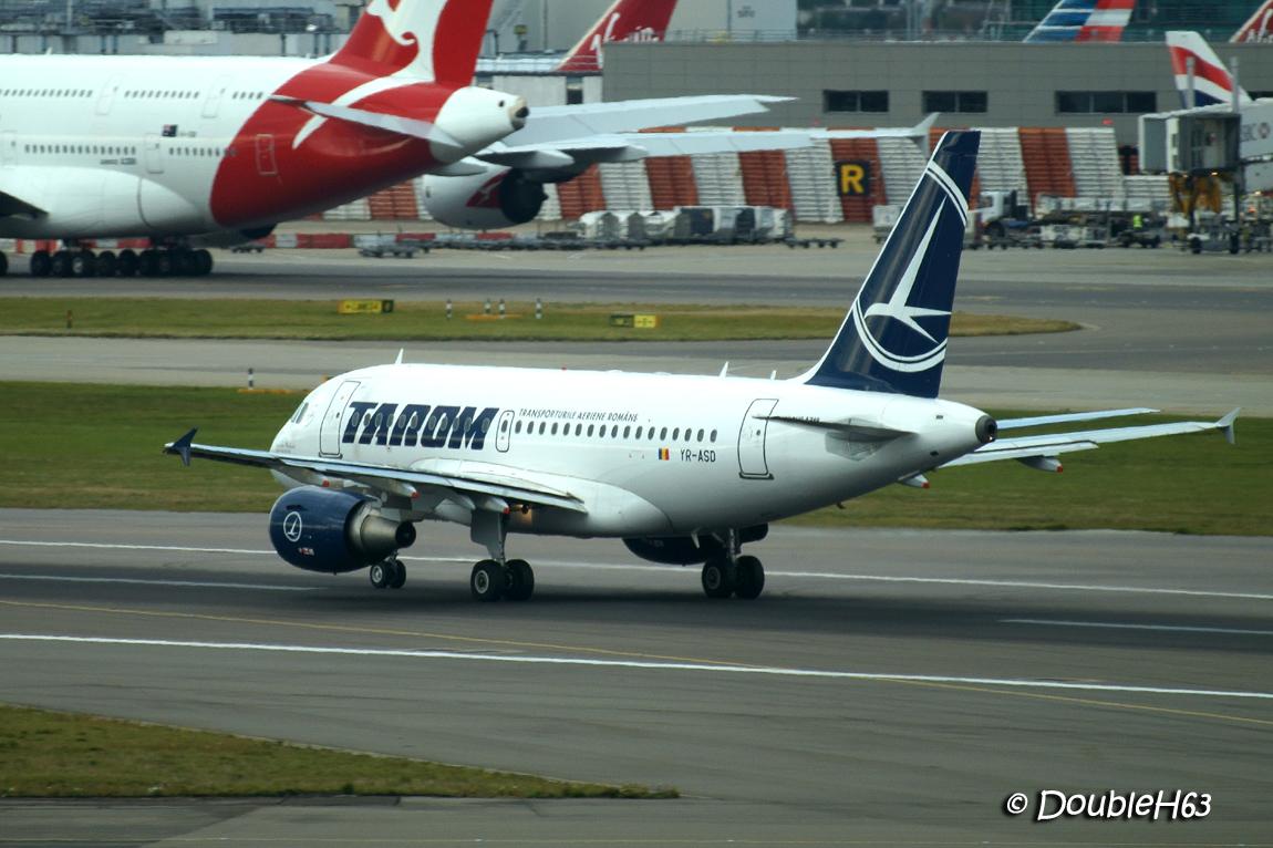 YR-ASD A318 TAROM LHR