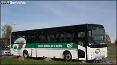 Irisbus Arès - STAO 72 (STAO PL, Société des Transports par Autocars de l'Ouest – Pays de la Loire) (Transdev) / TIS (Transports Interurbains de la Sarthe)