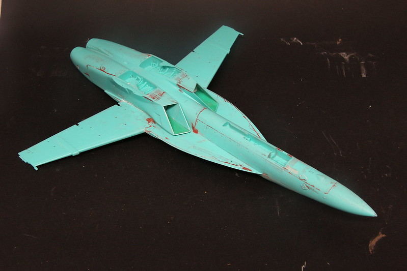 """Montage du F/A-18F """"The Idolmaster"""",  1/48 38195894875_411ab118be_c"""