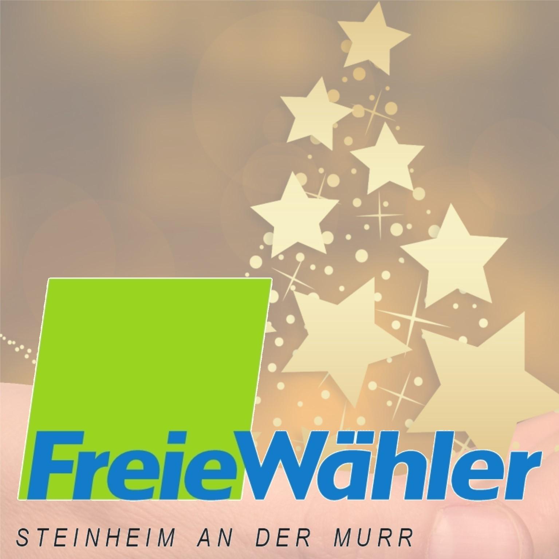 WeihnachtskarteFreieWählerSteinheim1
