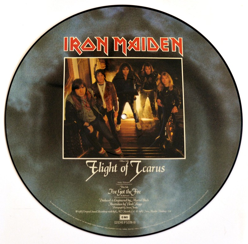 A0375 Iron Maiden Flight of Icarus (PD)