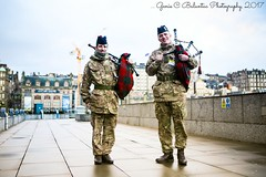 Scottish Bagpipers Two ...