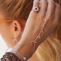 ✨ Lovely ✨ #jewelry by @linyajewellery http://ift.tt/2m5ph02 #TrendSetter #ring #handbracelet #chaintassel #diamond #anello #anellomano #star #shic #handharness #silver #gold #argento #elegante #turkishjewelry #jewellery #gioielli #jotd