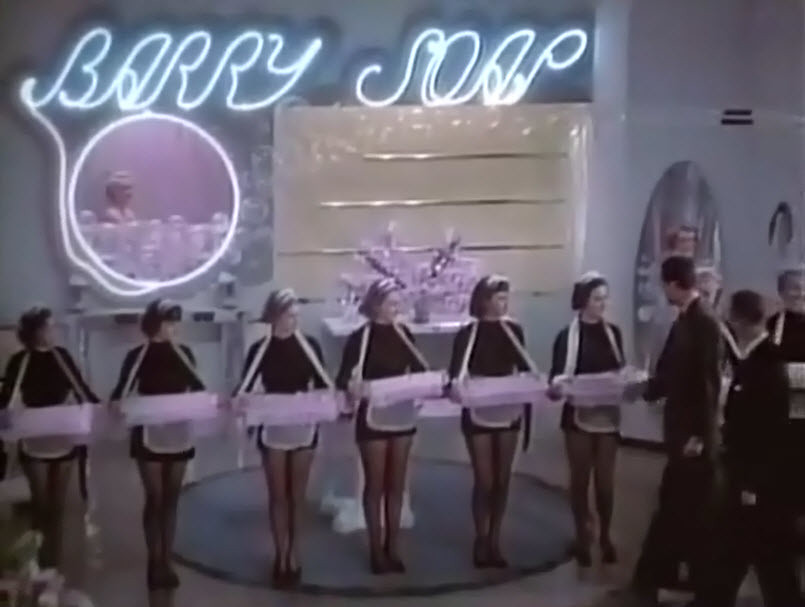Barry Soap Girls & Neon Sign,