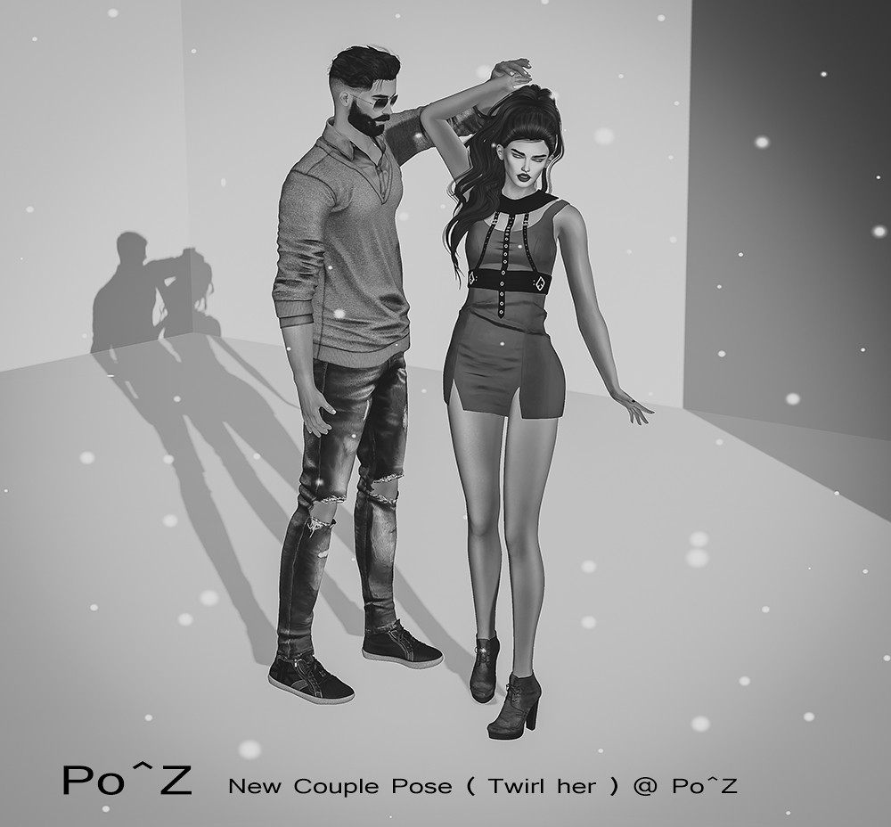 New couple pose @ Po^Z ( Twirl her ) - TeleportHub.com Live!