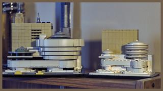 Solomon R. Guggenheim Museum Model
