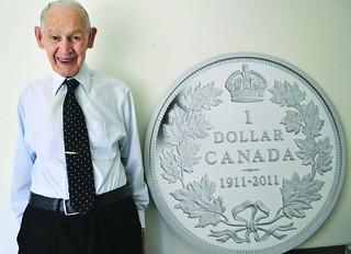 James Charleton at 100