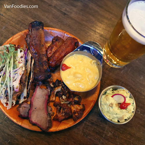 BBQ menu at Yale Saloon
