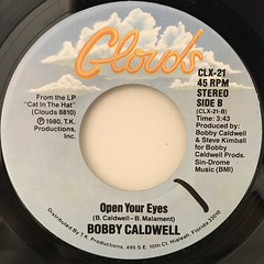 BOBBY CALDWELL:COMING DOWN FROM LOVE(LABEL SIDE-B)