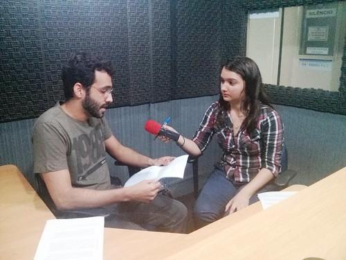 Entrevista de Arthur França na Rádio Universitária 2016-03-02