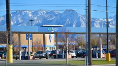 Sam's Club And The Mountains