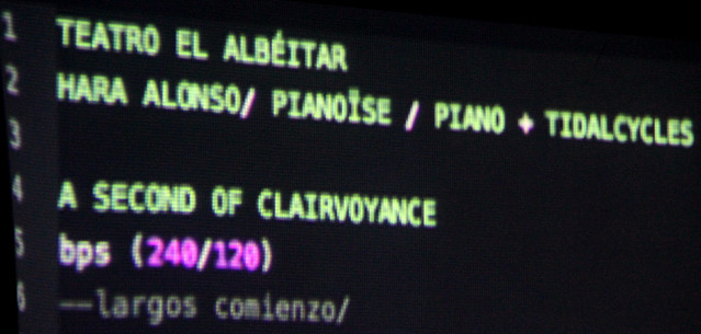 PIANOÏSE - HARA ALONSO EN EL TEATRO EL ALBÉITAR - 19.12.17